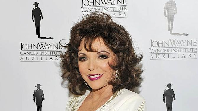 Joan Collins Cancer Ball