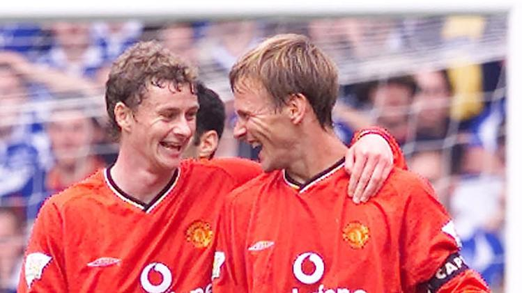 Soccer - Teddy Sheringham and Ole Gunnar Solskjaer File Photo