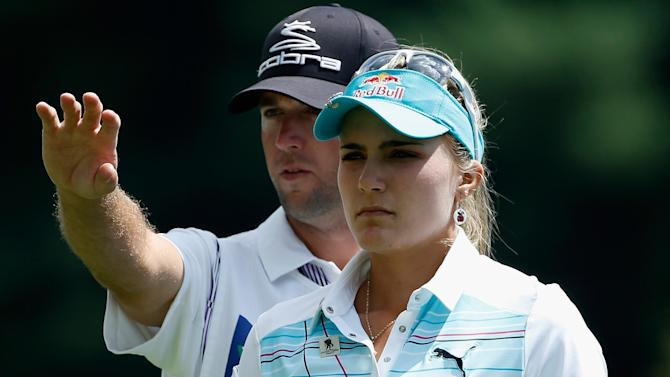 Golf - Thompson shares first round lead at LPGA Championship