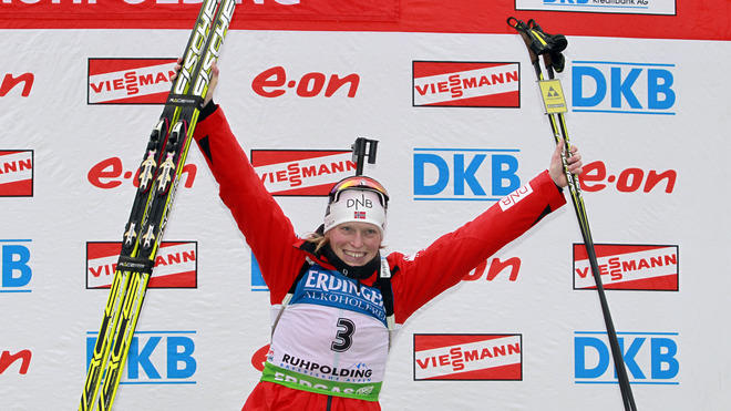 (FRANCE OUT) Tora Berger Of Norway Takes Getty Images