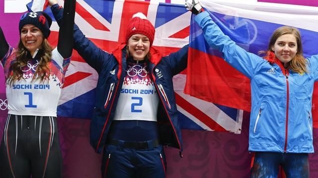 Skeleton - Dominant Yarnold wins Team GB's first gold medal in Sochi