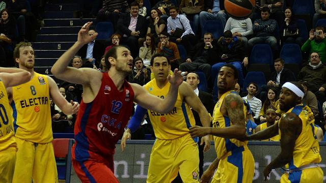 Basketball - CSKA rout Maccabi as Fenerbahce win Istanbul derby