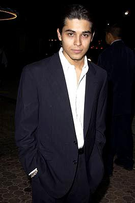 Premiere: Wilmer Valderrama at the Westwood premiere of Warner Brothers' Summer Catch - 8/22/2001