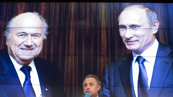 Russia says it has 'nothing to hide' after FIFA bid probe