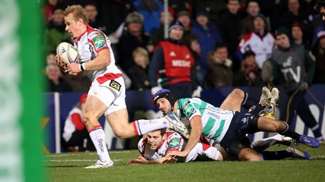 Heineken Cup - Ulster in seven-try win over Treviso