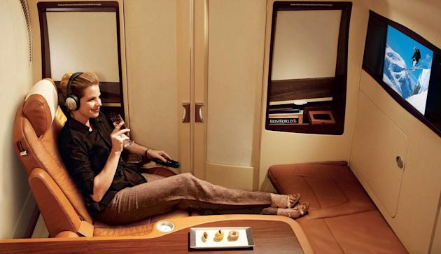 Inside the World's Most Luxurious First Class Airline Cabins