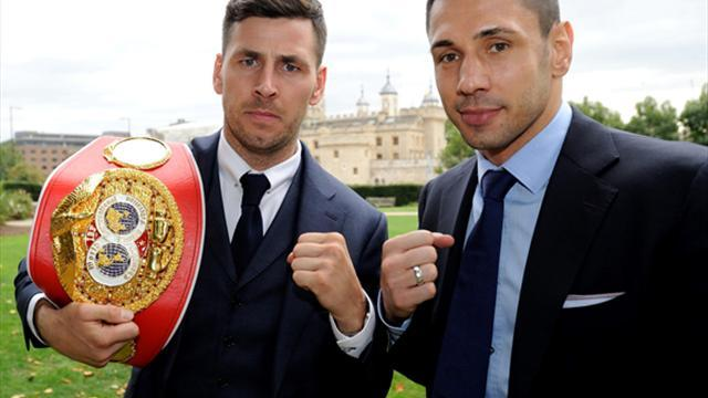 Boxing - Barker ready to dazzle in first title defence tomorrow