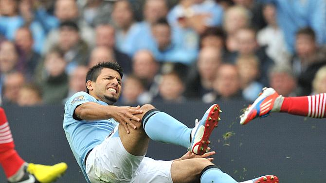Manchester City striker Sergio Aguero could feature for Argentina this weekend, despite his recent injury