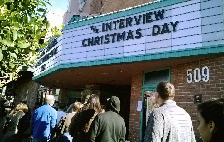 Capacity crowds pack screenings of 'The Interview'