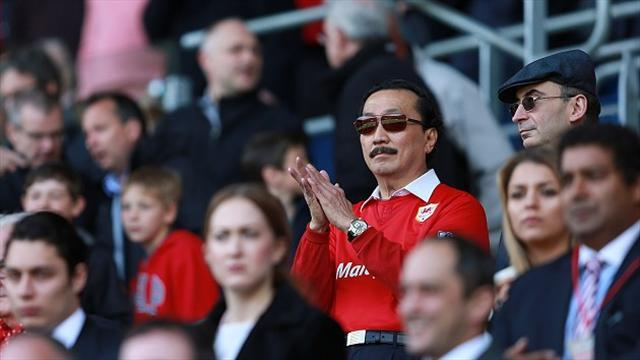 Premier League - Tan blames Mackay for relegation