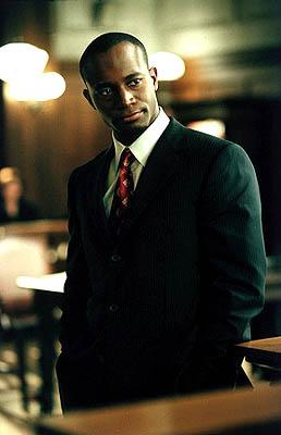 "Jackson Duper (guest star, Taye Diggs)and Ling represent a woman sued for firing all the men at her company on the ""Boy's Town"" episode of Ally McBeal Ally McBeal"