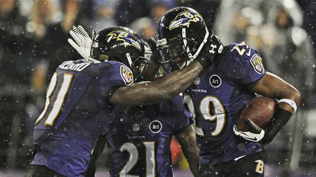 Ravens down Browns as regular refs return