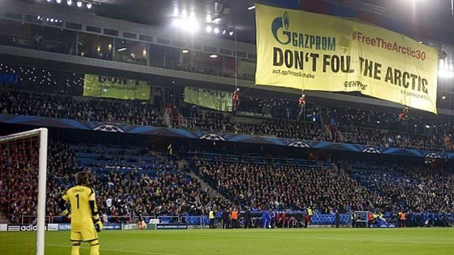 Champions League - Basel fined £25,409 for Greenpeace protest