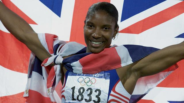 Memorable moments: Lewis crowned heptathlon queen
