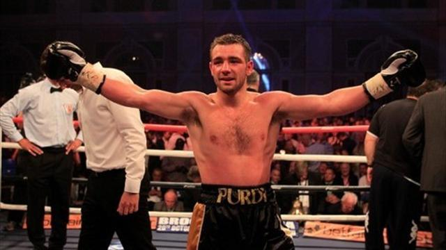 Boxing - Purdy fails to make weight for world title shot