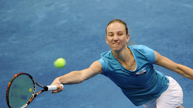 German Mona Barthel Returns AFP/Getty Images