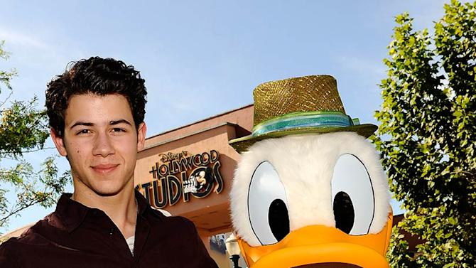 Nick Jonas Disneyland