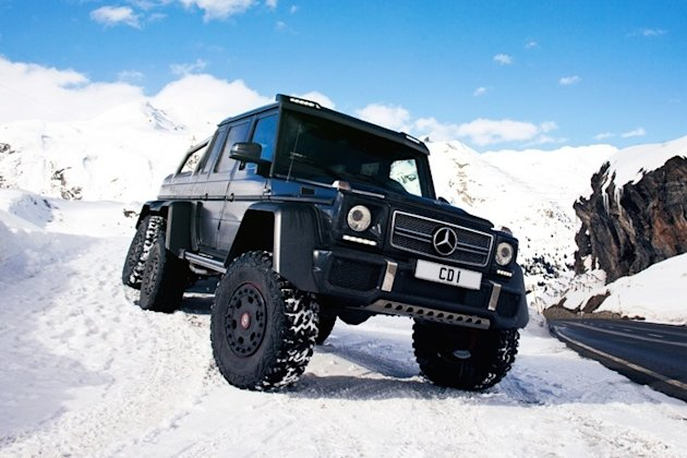 Mercedes 6x6 Snow photo