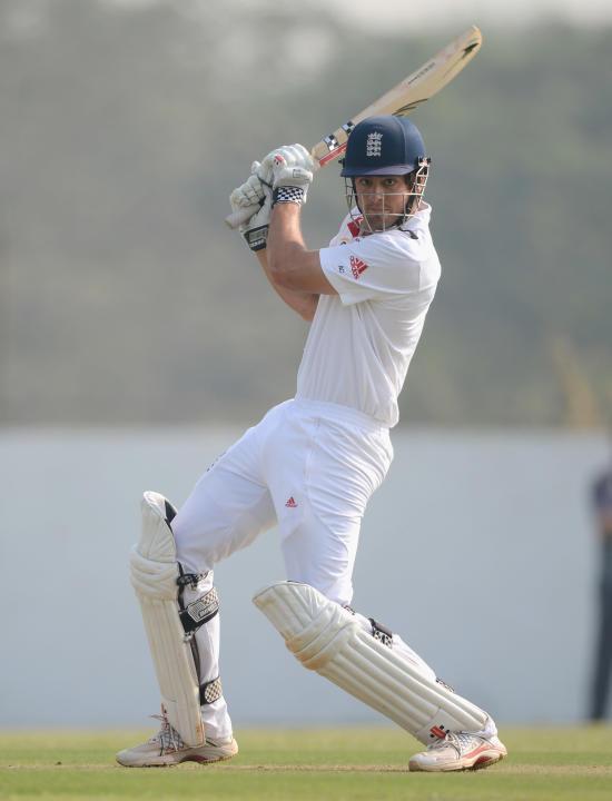 Haryana v England: Tour Match - Day One
