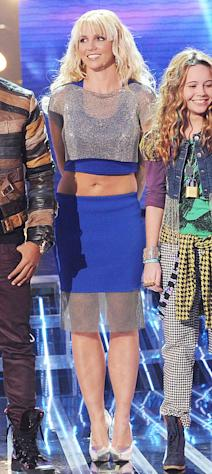 Britney Spears Rocks Sexy Crop Top on The X Factor