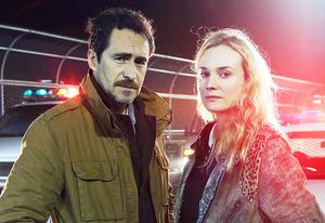 Demian Bichir and Diane Kruger | Photo Credits: FX Network