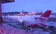 Russia Plane Crash: Two Dead And Ten Injured