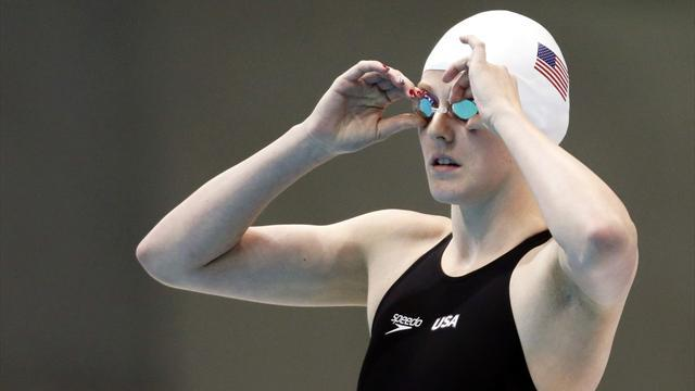 Swimming - Franklin cruises to 100m freestyle win at US trials