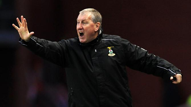 Terry Butcher was unhappy with the actions of Owain Tudor Jones following his red card