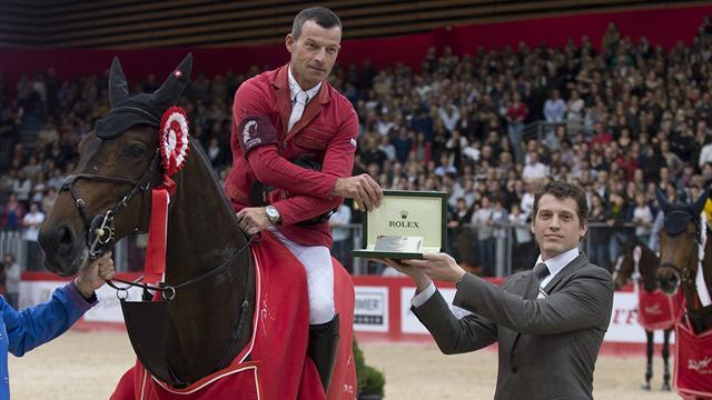 Equestrianism - World Cup circuit suits Schwizer