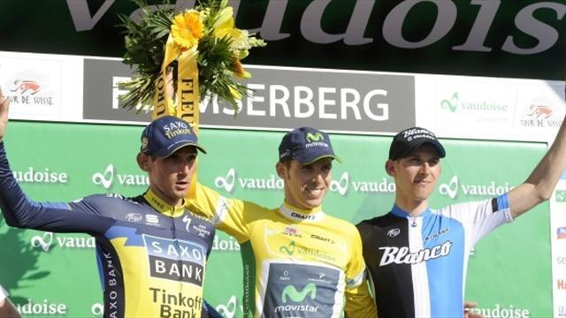 Cycling - Costa takes overall win in Tour de Suisse
