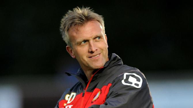 Steve Davis says Crewe will soon bolster their attacking options with a Premier League striker