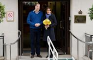Prince William and his pregnant wife Catherine leave the King Edward VII Hospital in London on December 6. A nurse at the hospital, which treated Prince William's pregnant wife Catherine, was found dead in a suspected suicide on Friday, days after being duped by a hoax call from an Australian radio station