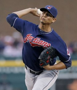 In his final 10 starts of last season, Carlos Carrasco struck out 78, walked 11 and had a 1.30 ERA over 69 innings. (Getty)
