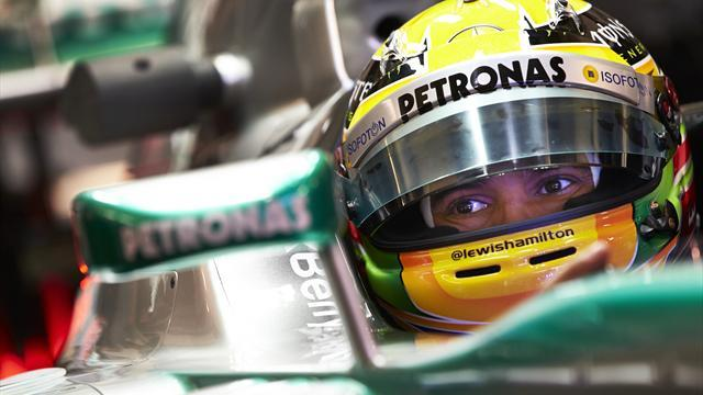 Formula 1 - Hamilton: Mercedes right where I expected