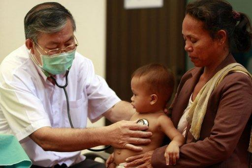 A 'mystery disease' has killed dozens of Cambodian children