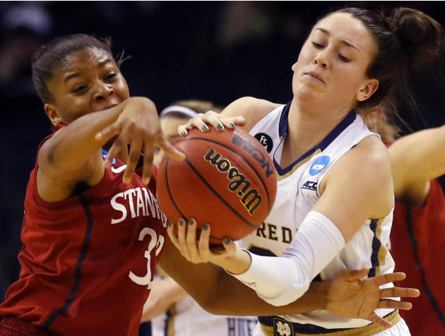 Notre Dame beats Stanford 81-60, advances to Elite Eight