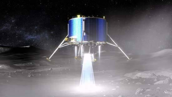 Proposed Mission May Bring Frozen Moon Samples to Earth in 2020s
