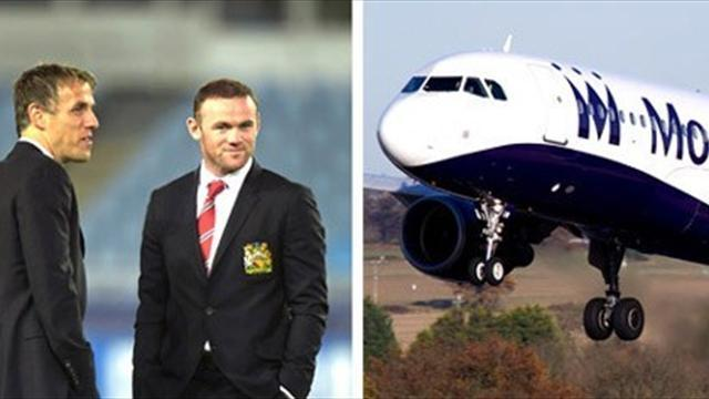 Champions League - United squad in mid-air drama in Germany