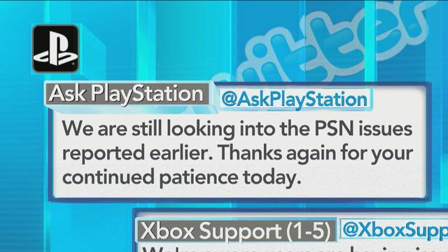 Microsoft Xbox Live back up, Sony PlayStation Network still down