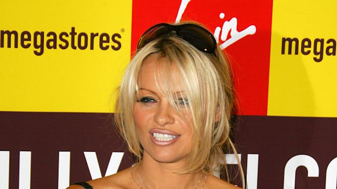 Pamela Anderson Book Signingclean