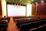 A view of Beijing's Daguanlou movie theater on December 19, 2005. Moviegoers in China spent 17 billion yuan ($2.7 billion) on tickets last year, turning the country into the second-largest film market in the world, the state news agency Xinhua said on Wednesday