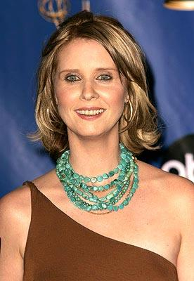 """Cynthia Nixon of """"Sex and the City"""" Outstanding Supporting Actress in a Comedy Series Emmy Awards - 9/19/2004"""