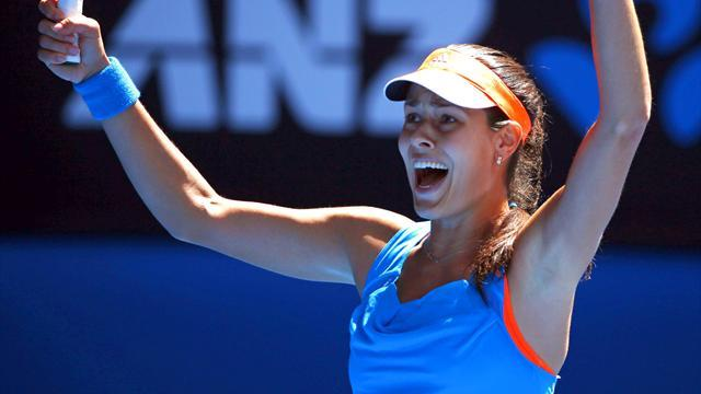 Australian Open - Ana Ivanovic stuns Serena Williams in Melbourne thriller