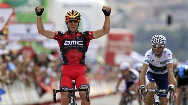 Gilbert wins as Valverde shines on Vuelta