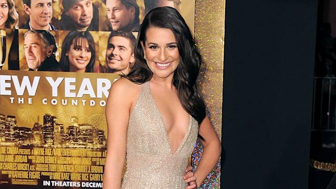 Lea Michelle New Years Eve Premiere