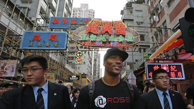 Hong Kong Derrick Rose