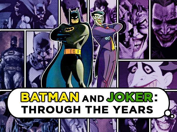 Batman and The Joker : Through the Years