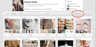 HelloInterview: Meet Kirsten Kuehn, The Bridal Designer Women Turn to on Pinterest for Wedding Inspiration. image bridal fashion designer wedding