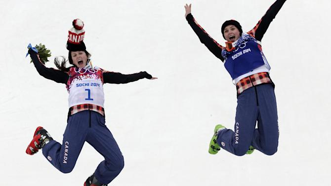 Canada finishes 1-2 in Olympic women's skicross