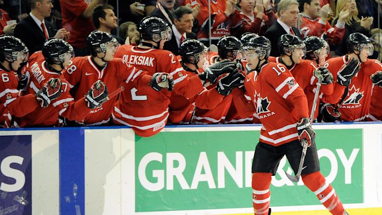 Team Canada at the 2012 world junior hockey championship